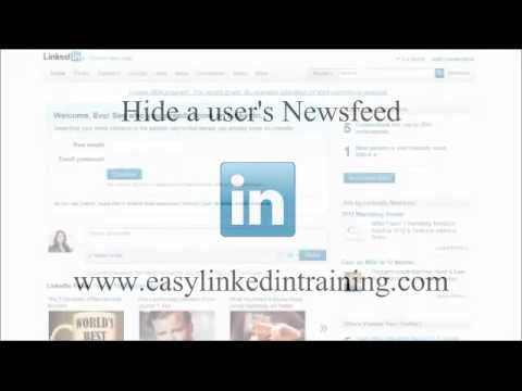 how to hide activity on linkedin