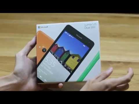 Đập hộp Lumia 535