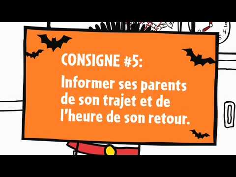 Web �pisode 5 de L�on - Les consignes de s�curit� pour l'Halloween