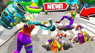 *NEW* Whack A Clown GAMEMODE IN Fortnite Battle Royale!