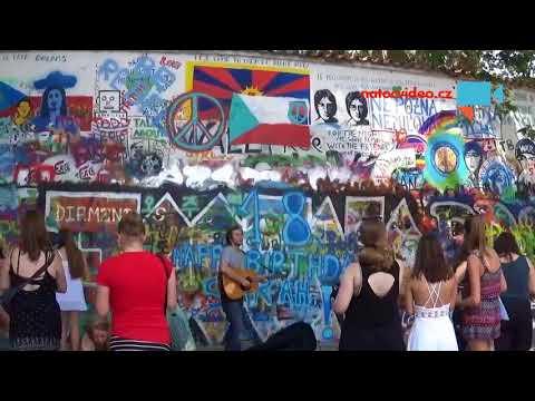 Zeď Johna Lennona