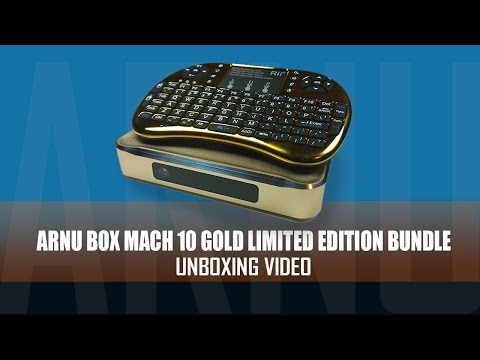 Arnu Mach 10 Limited Edition Gold UnBoxing