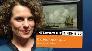 """""""Das Haarlemer Meer"""" von Jan van Goyen"""