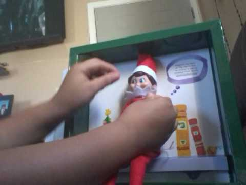 Elf of  the Shelf Box Opening (видео)