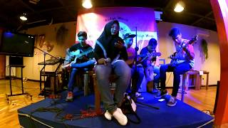 Vierra - Terlalu Lama ( cover accoustic ) by Scan Here !!