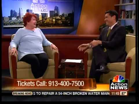 Janet Williams cracks up the Midday