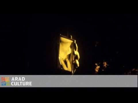 Nosferatu @ #StrARAD Street Festival /// soundtrack live: Abator Industries