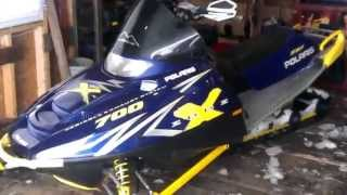 10. 2003 RMK 700 walkaround + running
