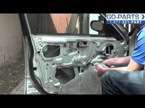 Replace 1993-1997 Nissan Altima Front Door Panel, How to Change Install 1994 1995 1996 1997