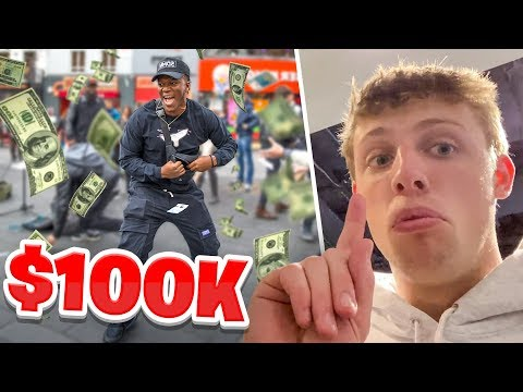 SIDEMEN SPEND $100,000 IN 1 HOUR CHALLENGE