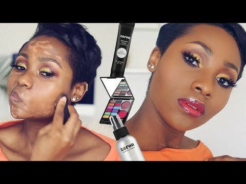 Trying New Makeup From Zaron | First Impressions Makeup Tutorial | Dimma Umeh
