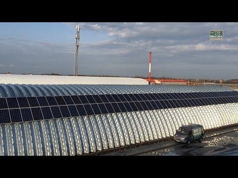 Гибридная солнечная электростанция для производственного объекта