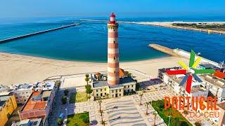 Aveiro Portugal  city photos gallery : Costa Nova & Aveiro Barra aerial view