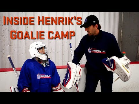 Inside Henrik Lundqvist's Goalie Camp