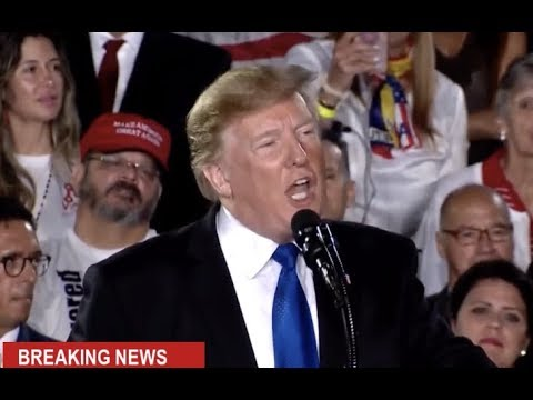 URGENT р President Trump EXPLOSIVE Speech to Venezuelan American Community at Rally in Florida