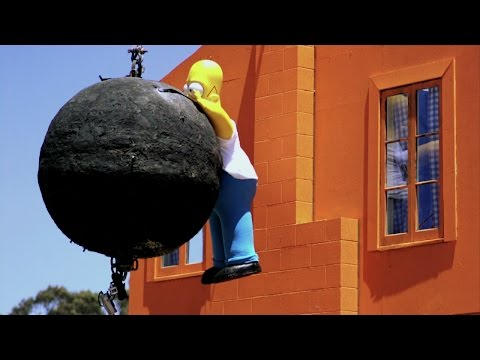 Simpsons Trailer | MythBusters