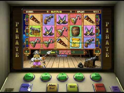 Про пиратов игровой автомат играть бесплатно и без регистрации