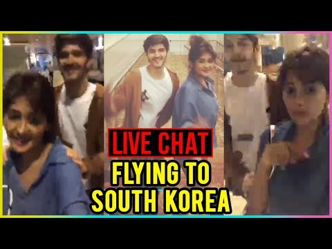 Kanchi Singh & Rohan Mehra Fly To South Korea |