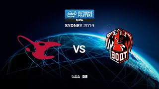 mousesports vs BOOT - IEM SYDNEY 2019 - map2 - de_train [Anishared & Eiritel]