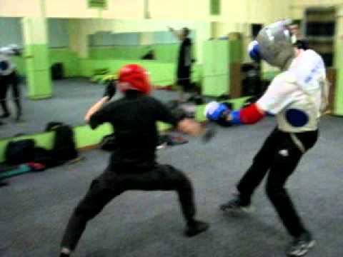 Спарринг с МС по боксу (Нож VsБокс)