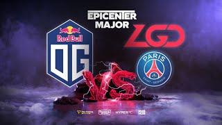 OG vs PSG.LGD, EPICENTER Major, bo3, game 2 [Lex & 4ce]