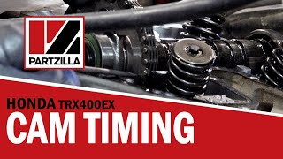 9. How to Set the Cam Timing on a Honda TRX 400EX ATV | Partzilla.com