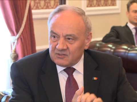 Nicolae Timofti a primit scrisorile de acreditare din partea Ambasadorului Olandei în Republica Moldova, Mattheus Van Bonzel