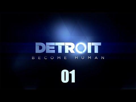 Detroit: Become Human - Прохождение по ролям pt1 - Заложница, Оттенки цвета