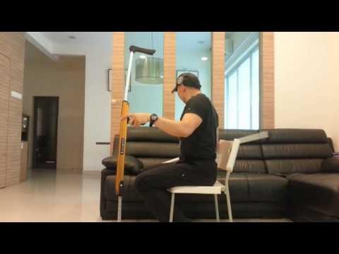 Wheelchair88 . X-Crutch Underarm Crutches