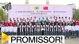 MENINOS DA VILA E DO MUNDO! O Santos FC está implementando sua filosofia de formação de atletas na China! Os primeiros bons resultados já começaram a aparece...