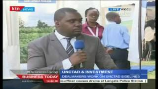Business Today 20th July 2016 - UCTAD: Kenya Focal Point For Businesses