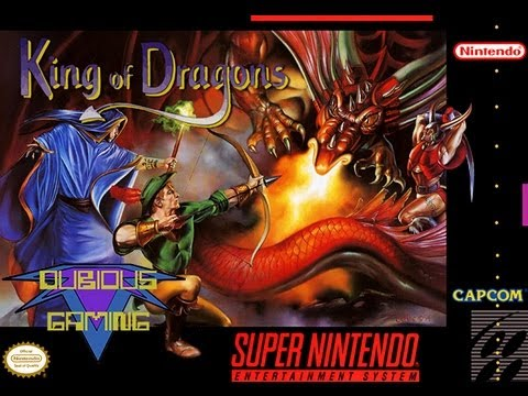 retrogaming - the king of dragons (snes version)