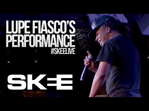 """Lupe Fiasco Performs New Song """"Crack"""" feat. Chris Brown [SKEE Live - Season 2]"""
