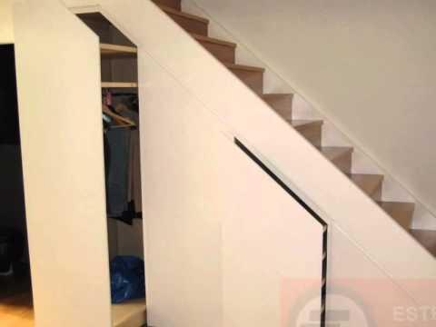 Armarios medida bajo escalera videos videos for Armario debajo escalera
