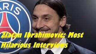 Die besten Interviews mit Zlatan Ibrahimovic