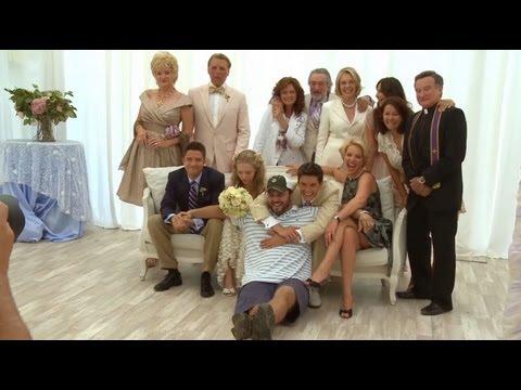 The Big Wedding Behind The Scenes! Amanda Seyfried, Katherine Heigl, Ben Barnes, Topher Grace!