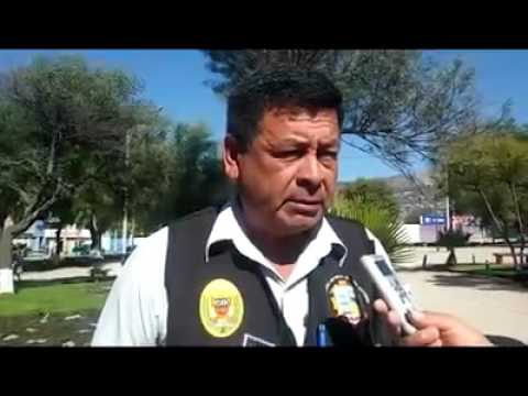 """Municipalidad Distrital de Jesús Nazareno, los agentes de Seguridad Ciudadana y efectivos de la Policía Nacional del Perú – PNP desactivaron una granada """"tipo piña"""""""