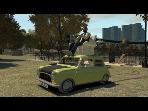 Grand Theft Auto IV – Mr. Bean's Mini Cooper (MOD) HD