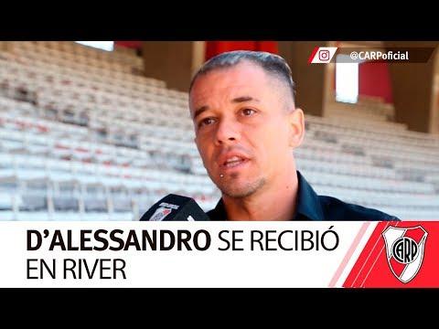 D'Alessandro terminó sus estudios en el Instituto River Plate