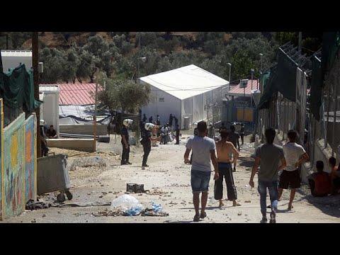 Λέσβος: Νέα εξέγερση μεταναστών στη Μόρια