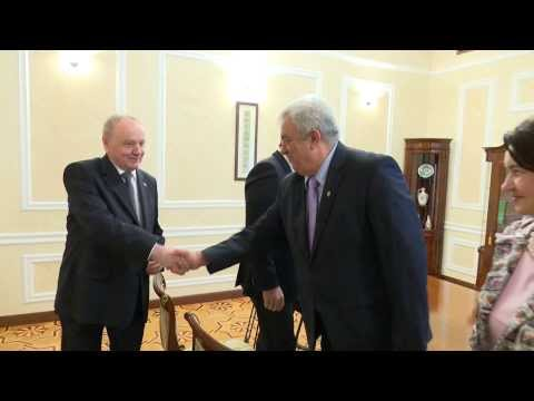 Discursul președintelui Nicolae Timofti la întâlnirea cu cabinetul de miniștri în exercițiu