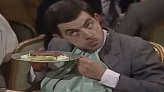 Mr Bean - Hiding Steak Tartare