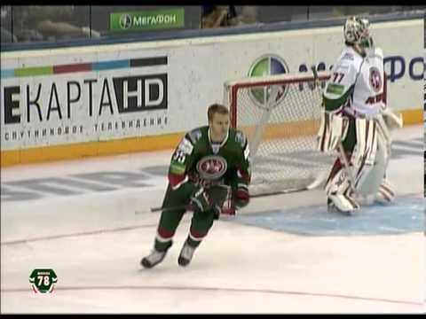KHL:n harjoitusottelussa nähtiin uskomaton rankkarimaali