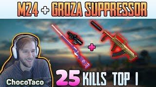 Video M24 + GROZA - ChocoTaco 25 kills DUO FPP MIRAMAR | PUBG HIGHLIGHTS TOP 1 #158 MP3, 3GP, MP4, WEBM, AVI, FLV November 2018