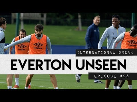 Video: EVERTON UNSEEN #25: GOMES AND MINA TRAIN IN NEW KIT, PLUS INTERNATIONAL CAMPS!