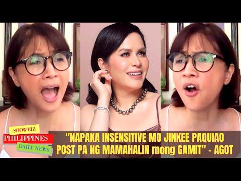 Agot Isidro BAGONG BANAT kay Jinkee Pacquiao INULAN ng PAMBABATIKOS