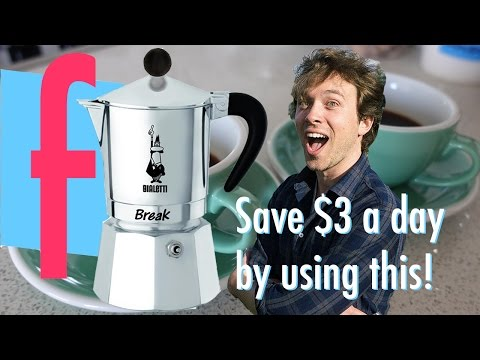 How to use a Bialetti coffee percolator || Frankie Cooks