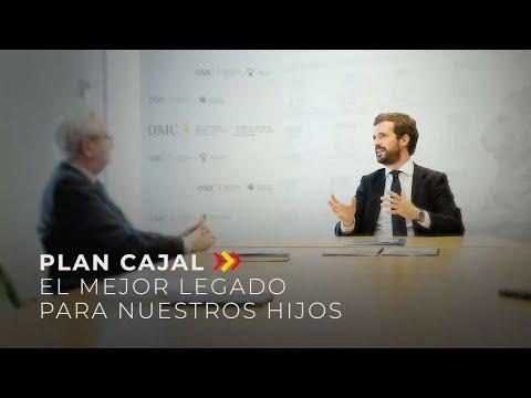 Plan Cajal, el mejor legado para nuestros hijos