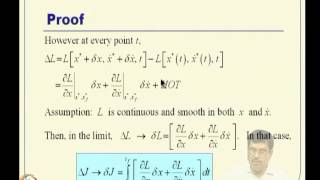 Mod-03 Lec-06 Review Of Calculus Of Variations -- I