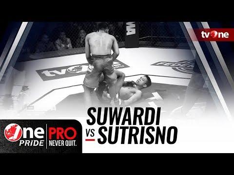 Download Video [HD] One Pride MMA #3: Suwardi VS Sutrisno - Flyweight Title Fight